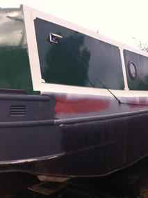 Blast Cleaned Longboat