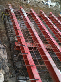 Steel Beam Foundations